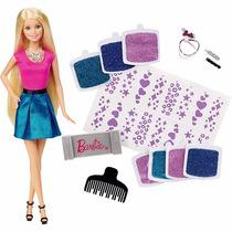 Boneca Barbie - Gliter No Cabelo - Mattel