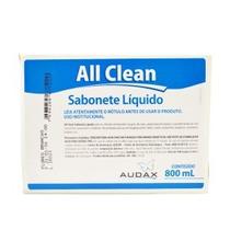 Sabonete Liquido Refil Flores Branca All Clean 800ml - Audax