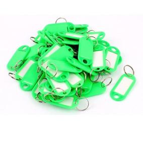50pcs Anillo Partido De Plástico Etiqueta De Identificación
