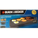 Plancha Para Cocina Electrica Black & Decker C Antiadherente