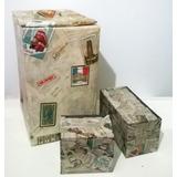 Promo Navidad!!! Cajas Decoradas - Usos Varios -