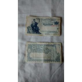 Billetes Antiguos De 50 Centavos De 1943