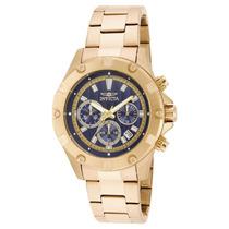 Relógio Invicta Specialty 15606 45mm Banhado A Ouro