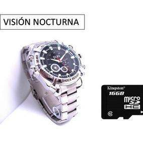 Reloj Espía Visión Nocturna Cámara 12mp Hd 16gb Envío Gratis