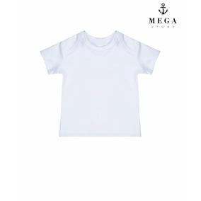 Camiseta Infantil 100% Poliéster Para Sublimação Manga Curta