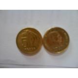 Moneda Antigua De $5 Uruguaya Del Año 1968