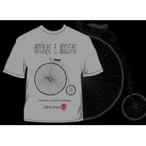 Camiseta Oficina G3 Histórias E Bicicletas Rock Gospel Metal