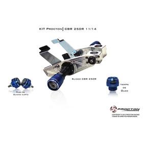 Kit Slider Procton Racing - Honda Cbr 250r - 3 Itens