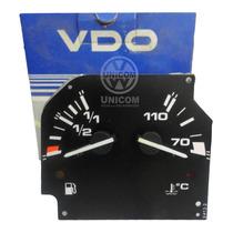 Relógio Combustivel/ Temperatura Santana 2.0 Sport Orig Vw