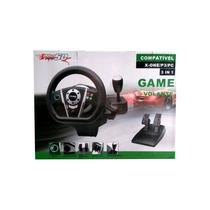 Volante Para Xbox One/ps3/pc Pro50 3 Em 1 X-one Sem Juros
