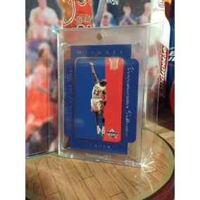 Michael Jordan Tarjeta Ud Rookie Of The Year 96-97 Vv4