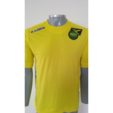 Camisa Seleção Da Jamaica Kappa - Pronta Entrega