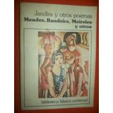 Modernismo Brasileño Mendes, Bandeira, Meireles,andrade Etc
