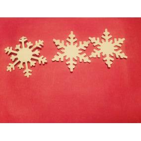 Copos De Nieve Frozen Estrellas