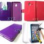 Capinha Carteira Flip Celular Lumia 640 Xl + Pelicula Vidro