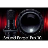 Sound Forge Pró 10 Editor De Audio