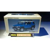 Camioneta Autoart® Toyota® Fj Cruiser Azul 2012 Esc 1/18