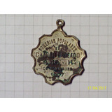 Medalla Chañar Ladeado Romerias Populares 1907 8,4 Gr 30 Mm