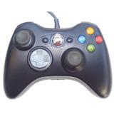 Control Xbox 360 Y Pc Windows Gamepad Alambrico Usb - Negro