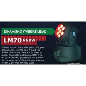 Cabezal Movil Led Lm-70 Big Dipper (7 X 8w / Rgbw) Fervanero