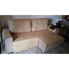 Protetor De Sofa Retratil E Reclinavel 1,60.. 2 Mod [forrado