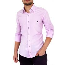 Camisa Slim Vinho Estilosa Lindas Luxo Fio 100 Dml Modas