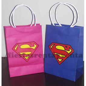 Bolsita Para Dulces Superman