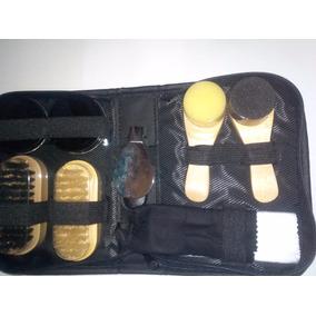 Set Limpia Zapatos En Semi Cuero