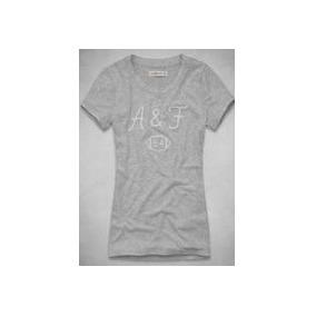 Camisetas Abercrombie   Fitch Feminina - Frete Grátis! 22f3df6a3cbb6