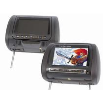 Par Encosto Cabeça Tela Monitor Lcd 7 P Dvd - Multimidia Bh