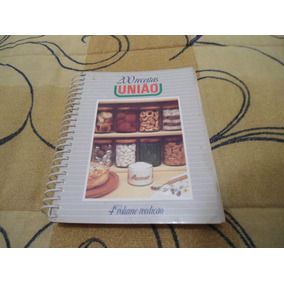 Livro De Receitas Uniao 4 Volume Reedição Anos 80 Bom Estado