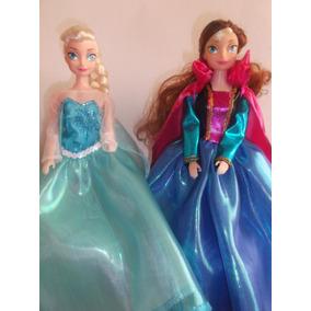 Muñecas Barbie Frozen Ana Y Elsa Centros De Mesa