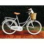 Bicicleta Retro Vintage Inglesa Premium Mujer R26
