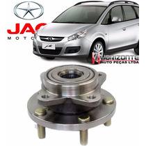 Cubo Roda Dianteiro C/rolamento Jac Motors J6 2.0 16v E J5