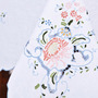 Toalha De Mesa Bordada A Mão Com Richelieu Orient 2,50x1,60m