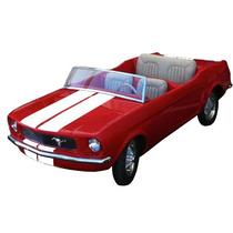 Mustang 70s (parque De Diversão / Pedal Car)