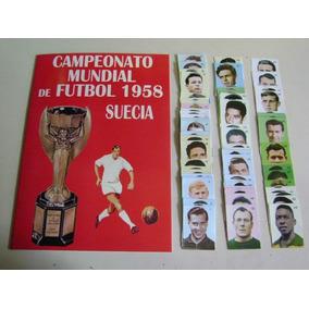 Album Figurinhas Copa Mundo 1958 Reedição Peru Colar