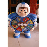 Nfl Champ Talking Musical Football Player Electronic Retro