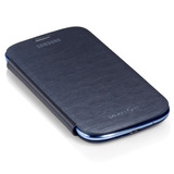Capa Protetora Flip Cover P/ Galaxy Siii I9300 S3 + Película