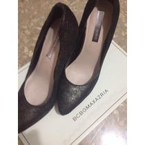 Zapatos Mujer Bcbg Talla 36.5 Con Plataforma Taco Negociable