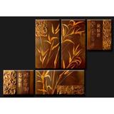 Cuadros Modernos, Trípticos Florales, Abstractos, Texturados