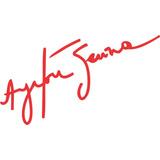Adesivo Assinatura Autógrafo Ayrton Senna Mito Das Pistas