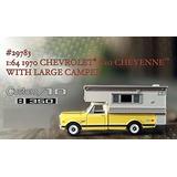 Greenlight 1970 Chevy Cheyenne Camper Rueda Goma Solo Envios