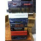 Acervo Com 8 Livros De Direito Clássicos E Atuais.