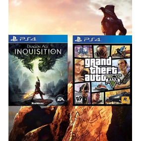 Grand Theft Auto V + Dragon Age Inquisition Ps4 Psn