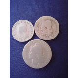 Argentina - Moneda De Cuproniquel 5-10 Y 20 Ctvo 1918