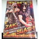 Revista Jedbangers Slash Mike Ammot Kiss Poster Almafuerte