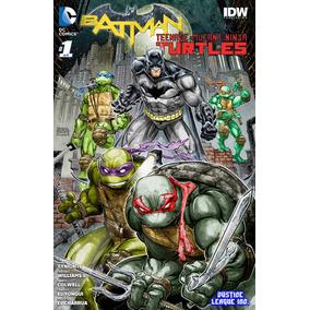 Batman Y Las Tortugas Ninja Colección Completa Dc Comic Digi