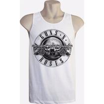 Camiseta Regata Masculina Bandas Guns N Roses Gr8