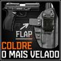 Coldre Magnum Interno Iwb Kydex Velado Pistola Taurus Pt 838